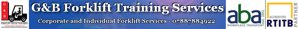 GB Forklift Training services